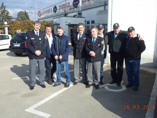Udeležba članov Sever DBK na skupščini Sever v Kopru