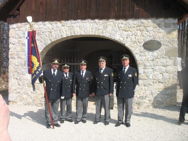 Delegacija 1.maja na Javorovici 2009