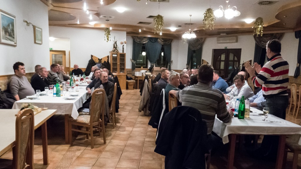 Novoletno srečanje članov na Mirni