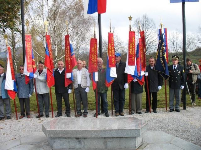 Spominska slovesnost v Žužemberku