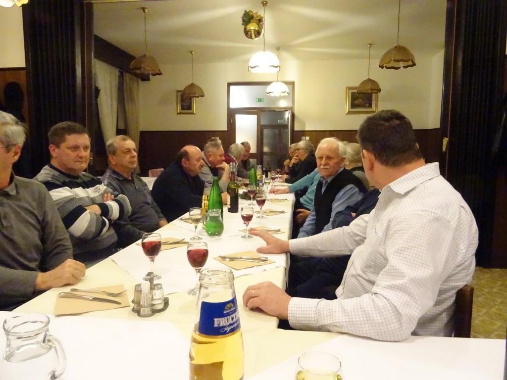 Novoletno srečanje članov Dolenjske Toplice