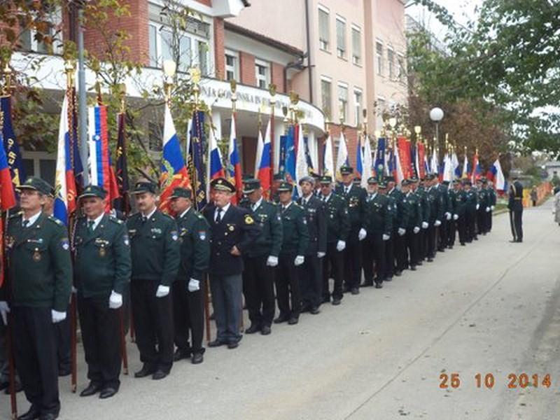 Proslava ob odhodu zadnjega vojaka JLA iz Slovenije