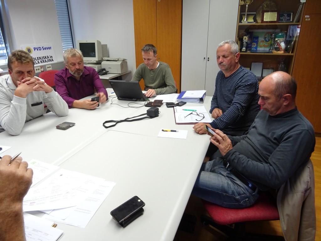 Seja Upravnega odbora društva Sever DBK