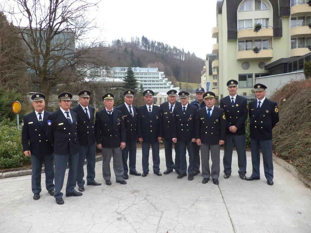 Delegati PVD Sever DBK na skupščini zveze Sever v Rogaški Slatini